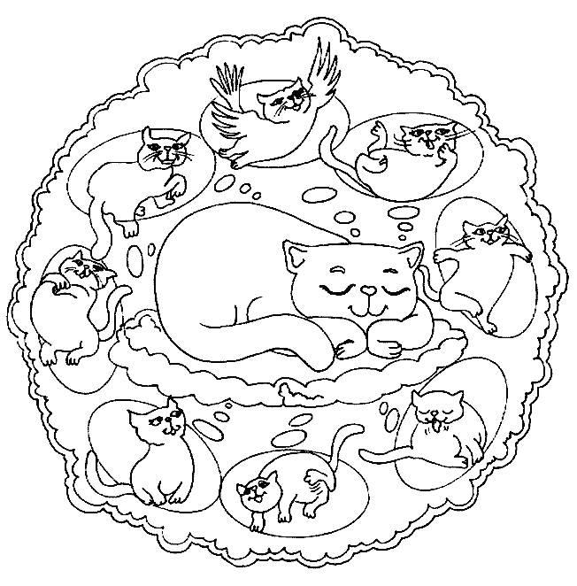652x662 Mandala Coloring Pages For Kids Free Printable Mandalas For Kids