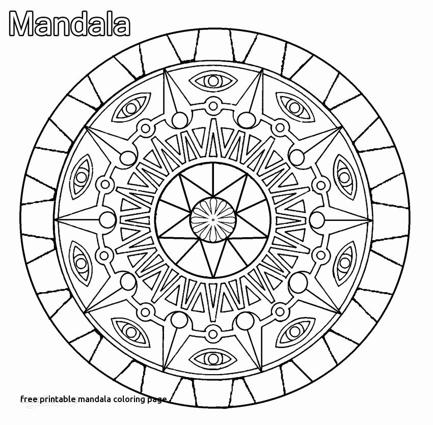 850x835 Mandala Coloring Pages Free Coloring Mandalas Kids Free