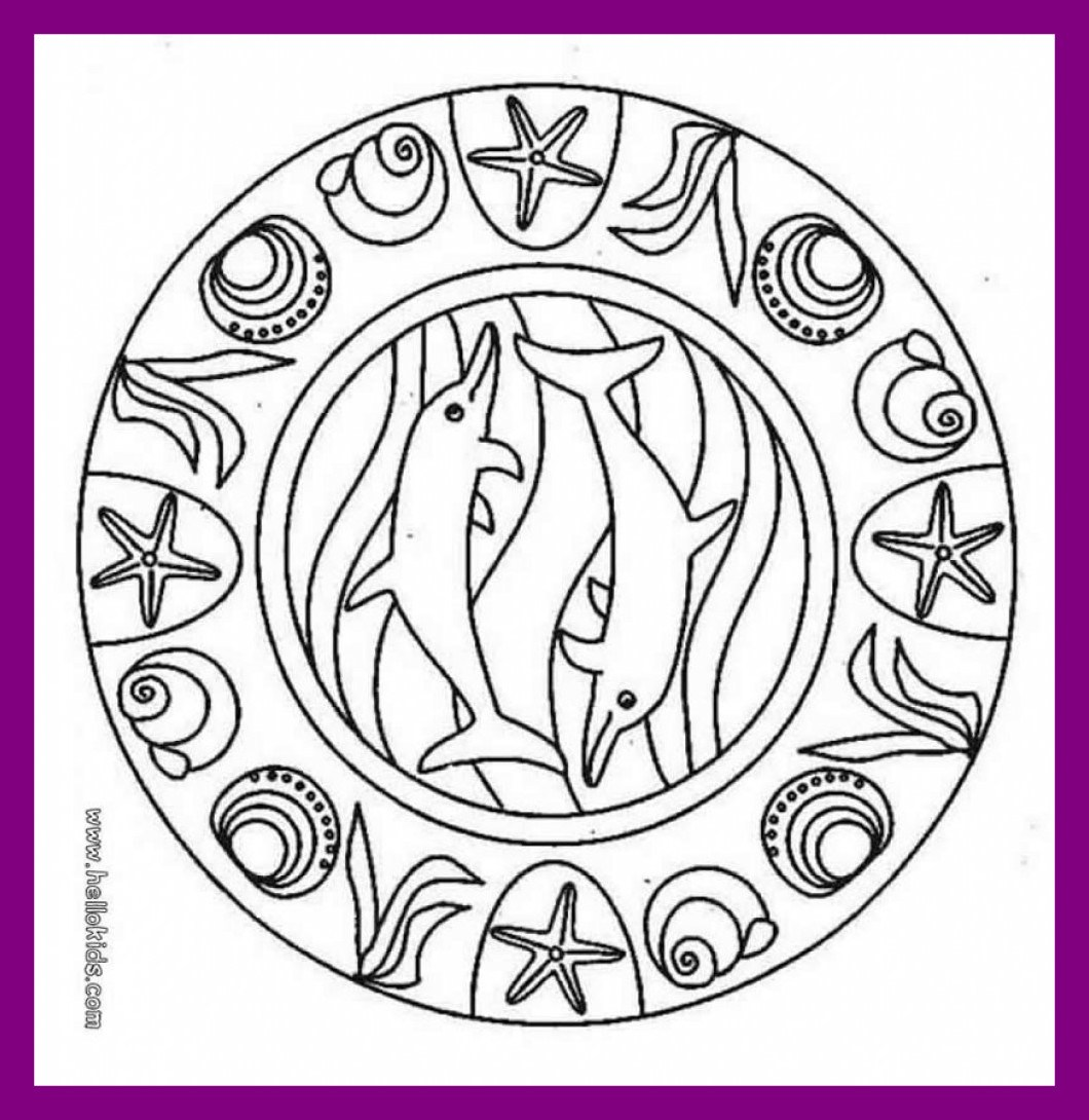 1060x1090 Marvelous Mandala Coloring Pages Printable Children Color Pict