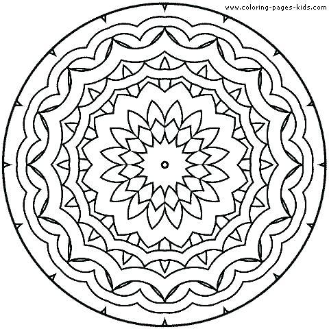 480x480 Free Mandala Coloring Pages Coloring Book Trees Plus Mandala