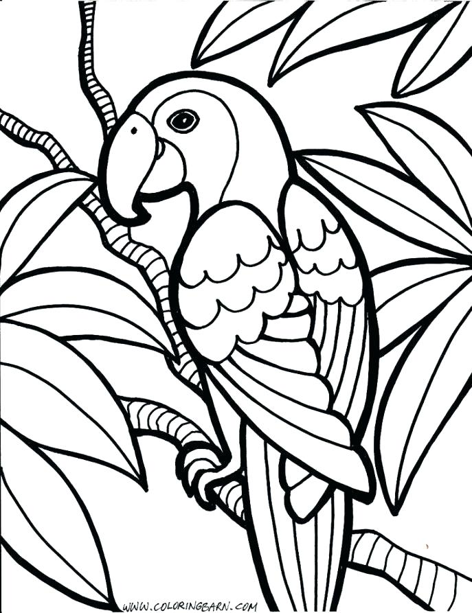687x893 Childrens Printable Coloring Pages Free Printable Coloring Pages