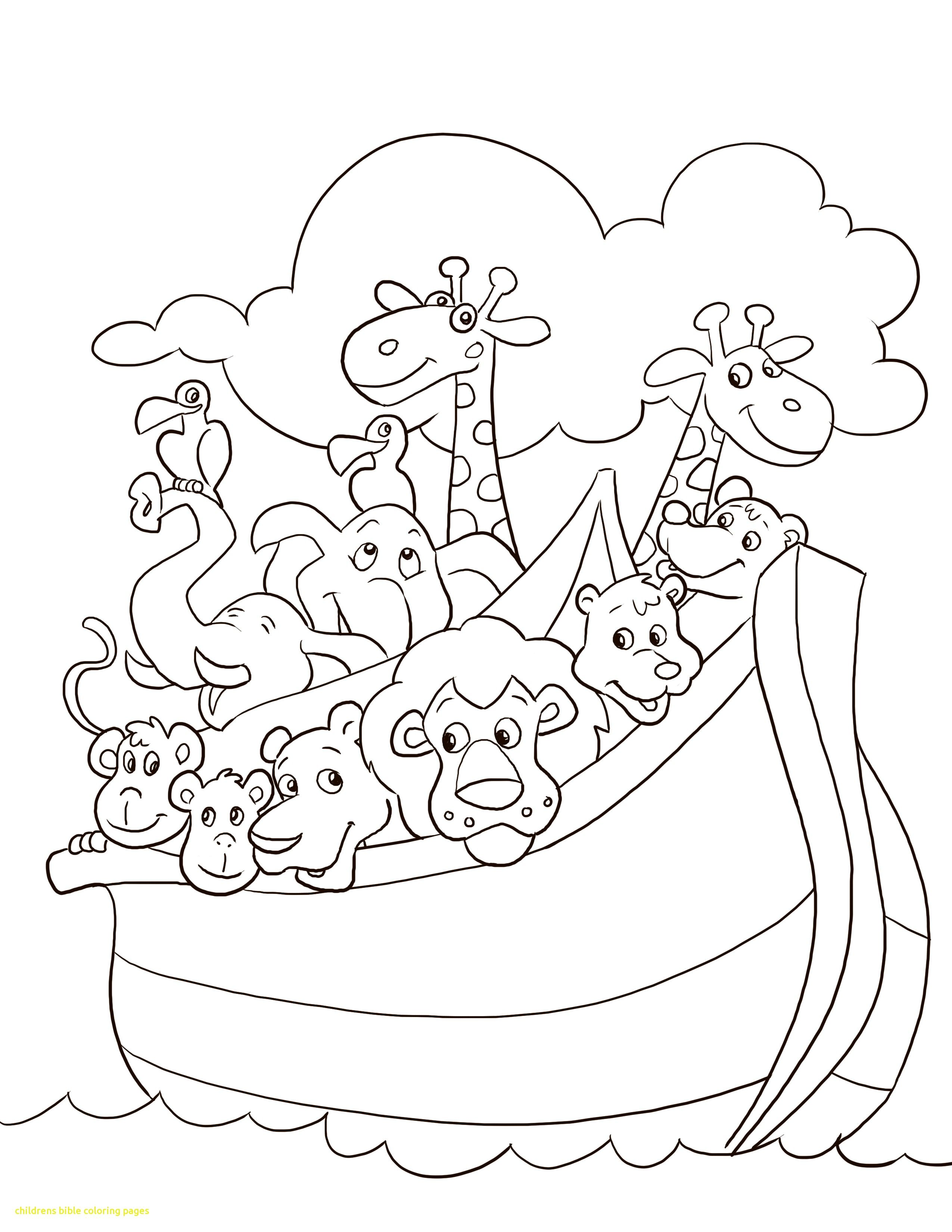 2550x3300 Childrens Bible Coloring