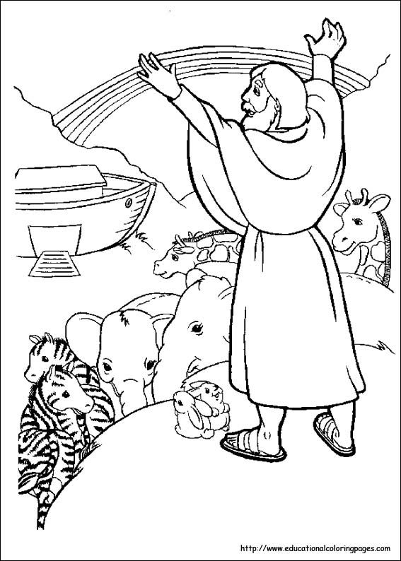 567x794 Childrens Bible Coloring Pages