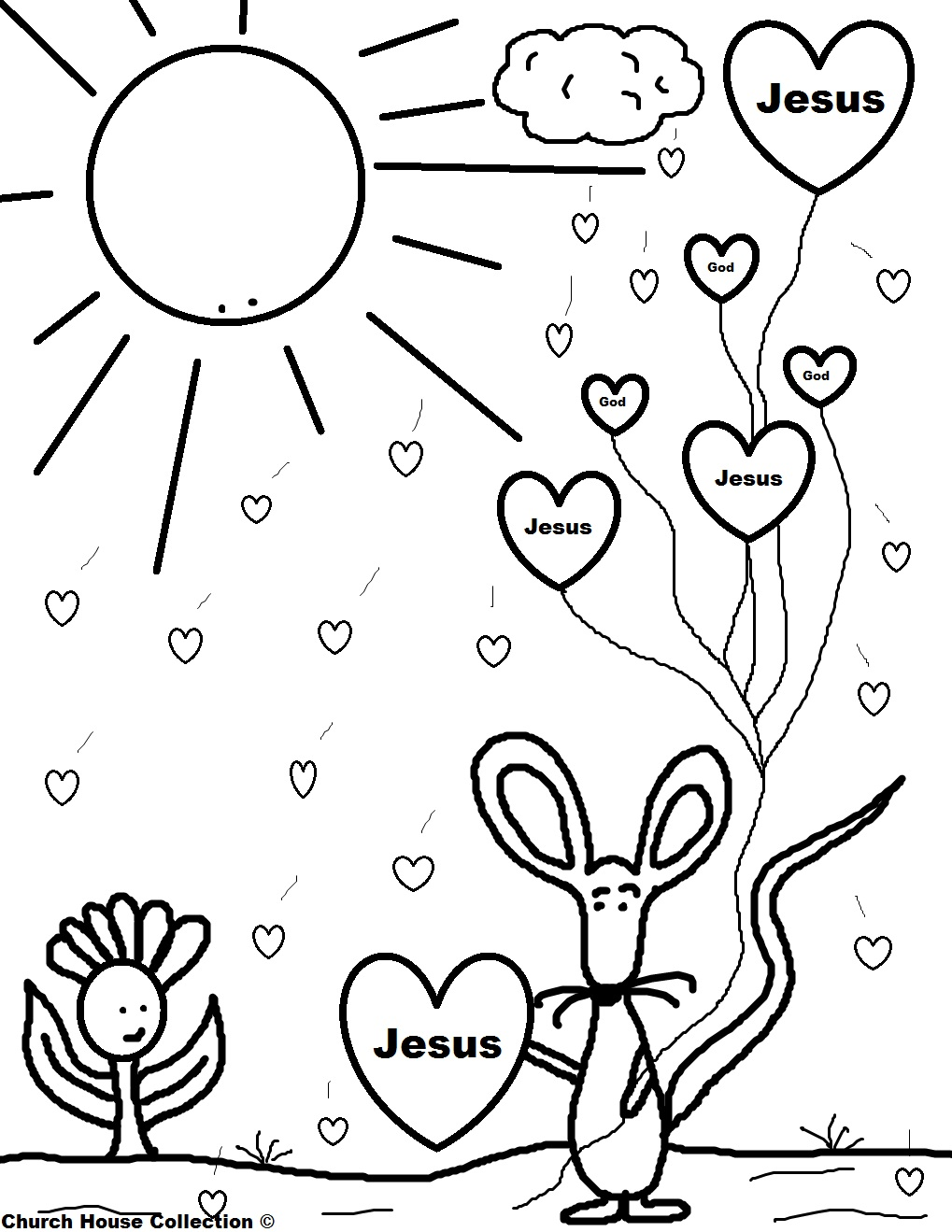 1019x1319 Childrens Church Coloring Pages