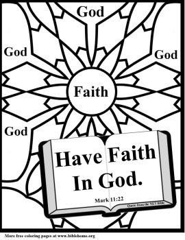 270x350 Faith Coloring Sheets