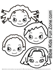 Children Around The World Coloring Pages at GetDrawings.com   Free ...