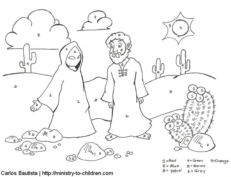 800x612 Sunday School Coloring Page Parable Of The Sower Children