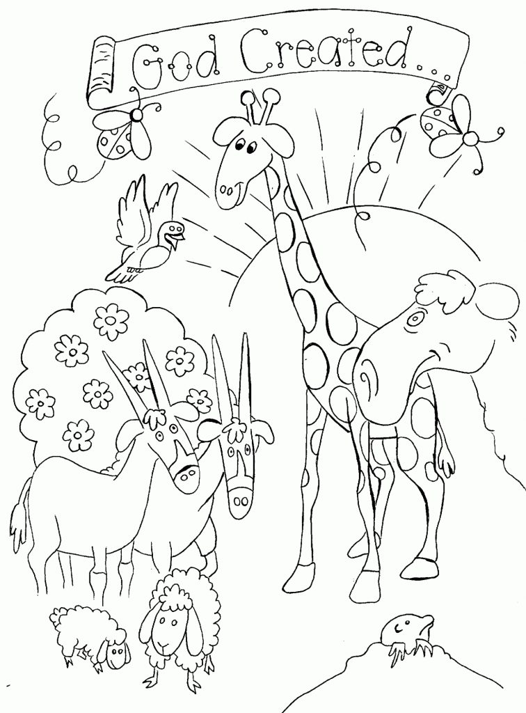 756x1024 Superb Children's Bible Coloring Pages