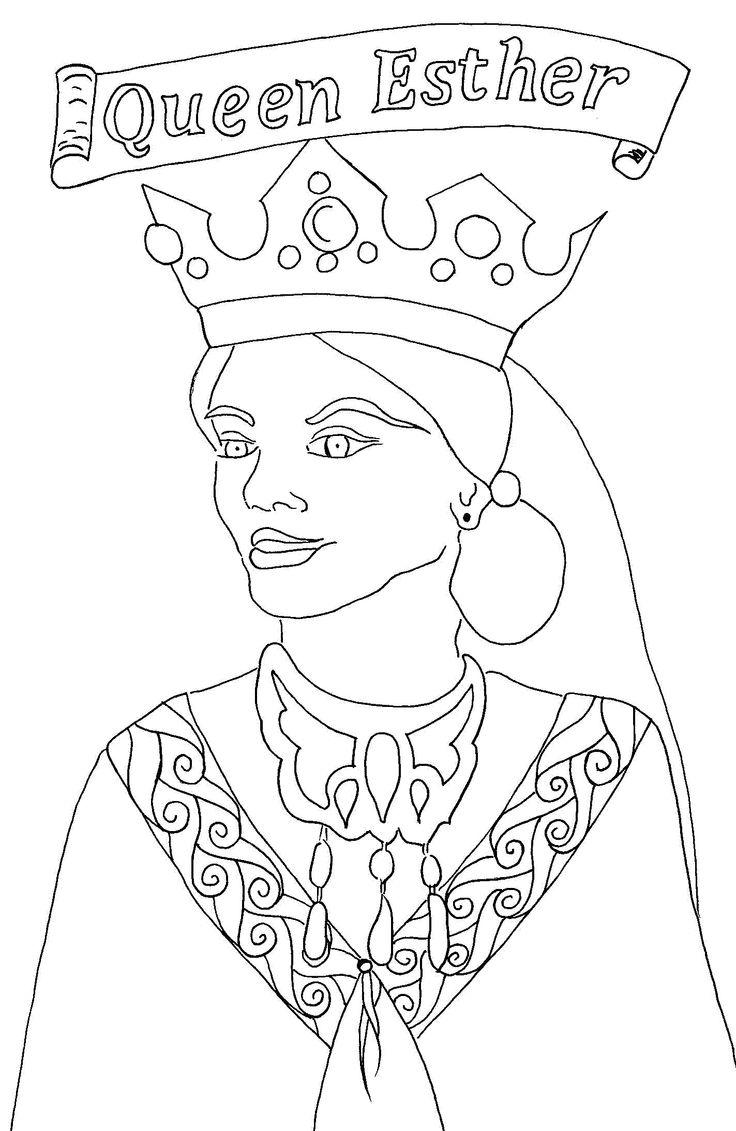 736x1131 Achashverosh Sunday School Printable Of Esther Coloring