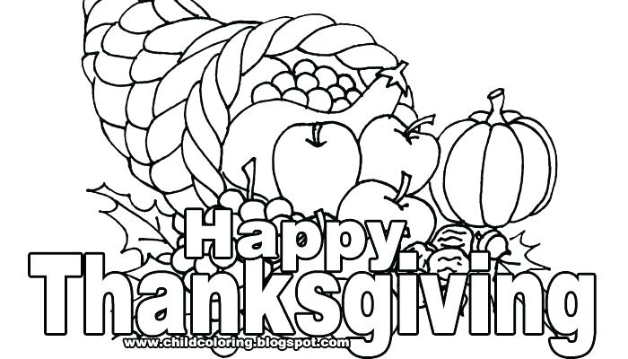 700x400 Free Printable Preschool Thanksgiving Coloring Pages Kids Coloring