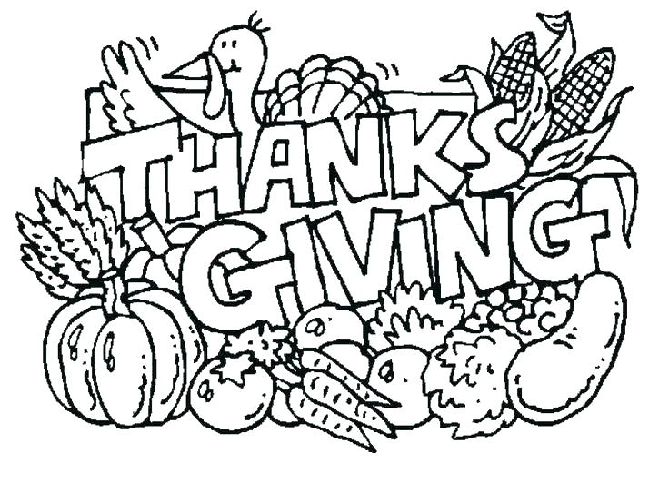 736x531 Free Thanksgiving Coloring Pages For Preschoolers Thanksgiving