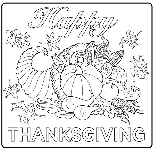 650x635 Preschool Thanksgiving Coloring Pages Happy Thanksgiving Coloring