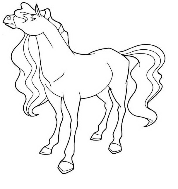608x647 Sensational Design Horseland Coloring Pages Scarlet Calypso Pepper