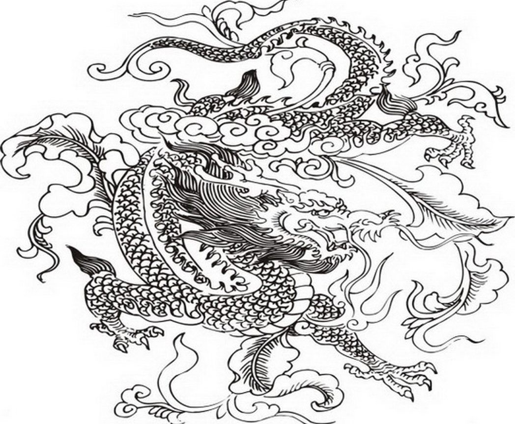 Chinese Coloring Pages At Getdrawings Free Download