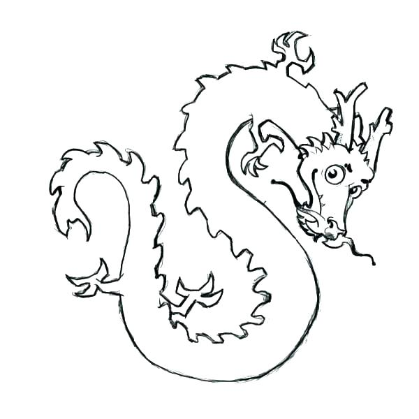 600x600 Chinese Dragon Coloring Pages Cute Dragon Coloring Pages Cute