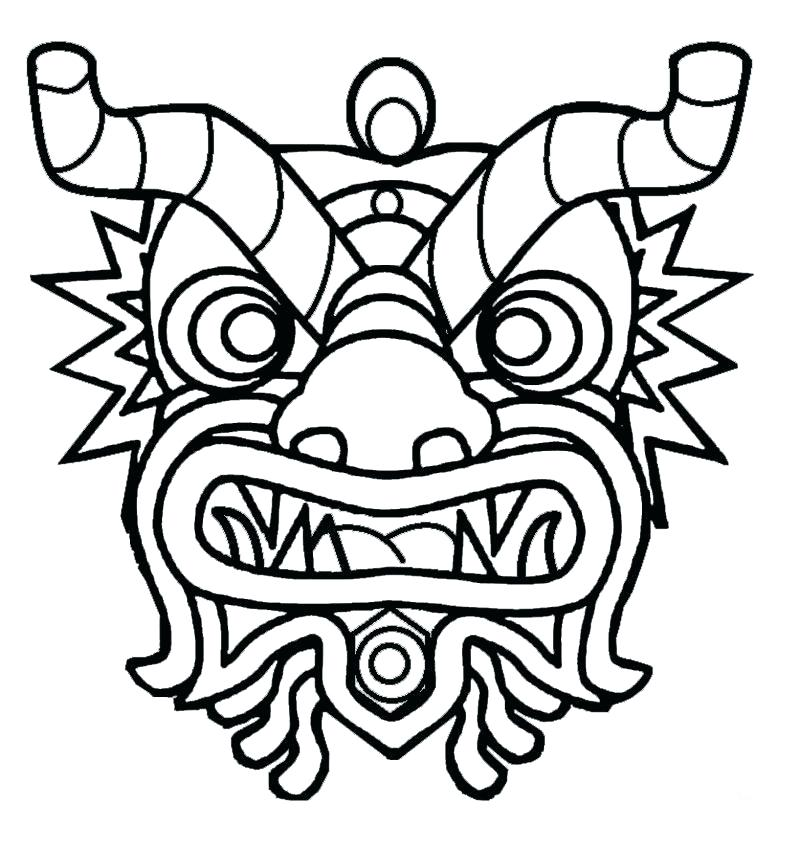 800x850 Chinese Dragon Coloring Sheet New Year Dragon Coloring Pages New