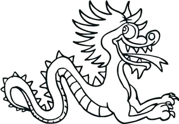 600x417 Coloring Pages Of Dragons Imperial Dragon Coloring Page Coloring