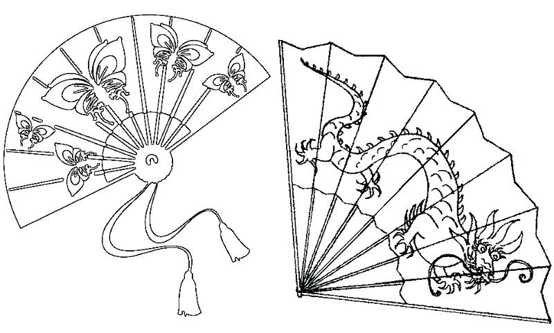 800x482 Fan Coloring Page Fan Coloring Page Fun Printable Thanksgiving
