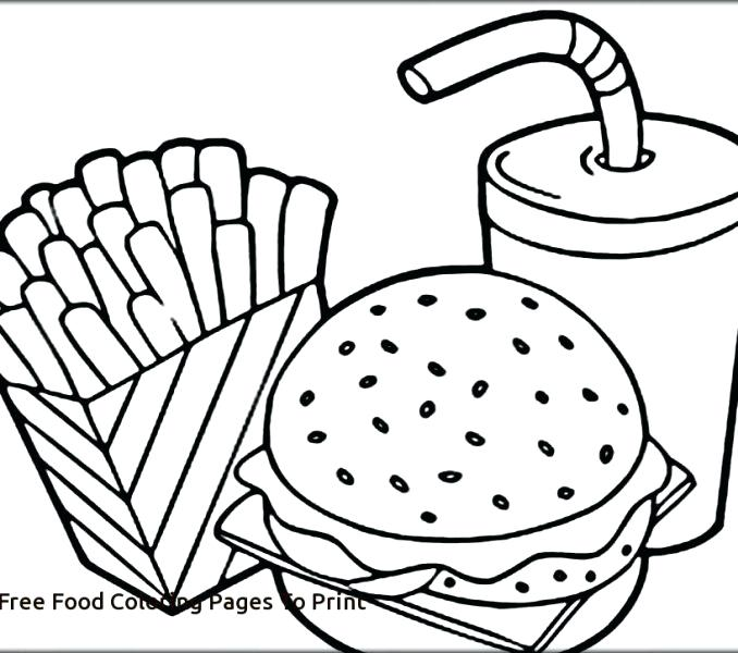 678x600 Chinese Food Coloring Pages Food Colouring Pages Free Coloring