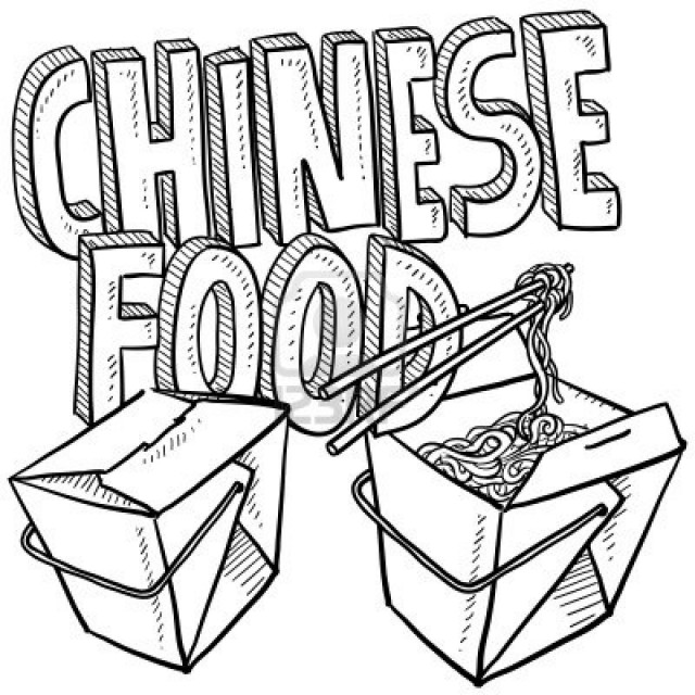 640x640 Coloring Pages Of Chinese Food Kids