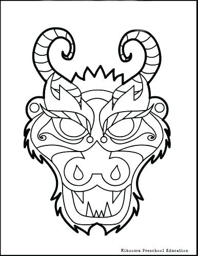 386x500 Chinese Coloring Pages Free Printable New Year Coloring Pages New