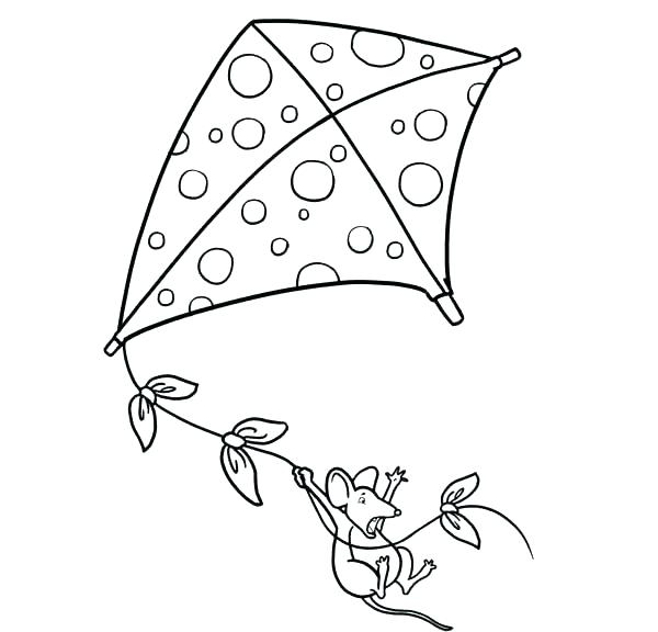 600x576 Kites Coloring Pages Kites Coloring Pages Kite Coloring Pages