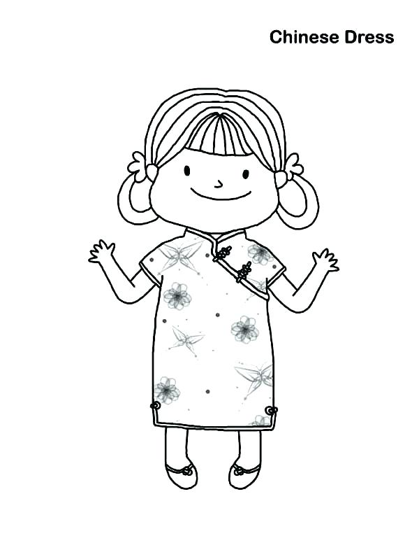 600x776 Little Girl Coloring Pages Little Girl Coloring Pages Little Girl