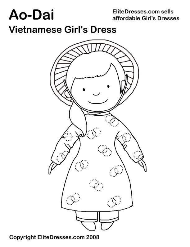 612x792 Girls Coloring Pages