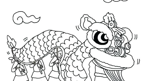 585x329 Chinese New Year Year Of The Monkey Coloring Page Good New Year