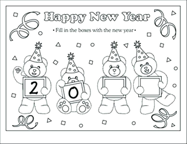 777x600 New Year Coloring Pages Doodle Art Alley Happy New Year Chinese