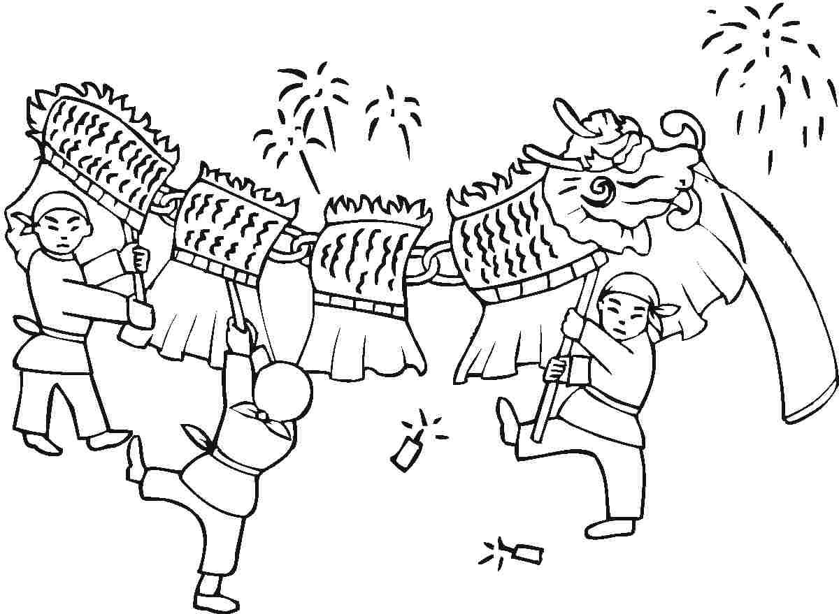 Chinese New Years Coloring Pages at GetDrawings.com | Free for ...