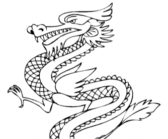 Chinese Words Coloring Pages