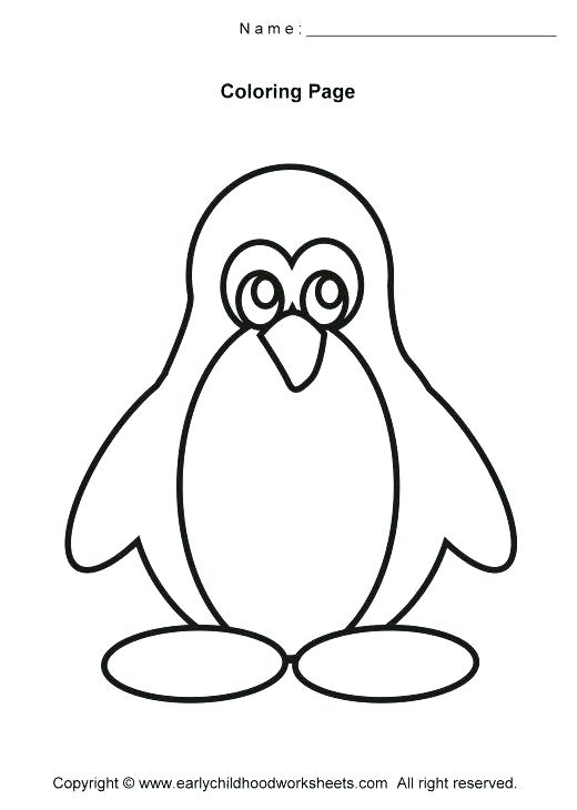 520x730 Penguins Coloring Page Cute Baby Penguin Coloring Pages Club