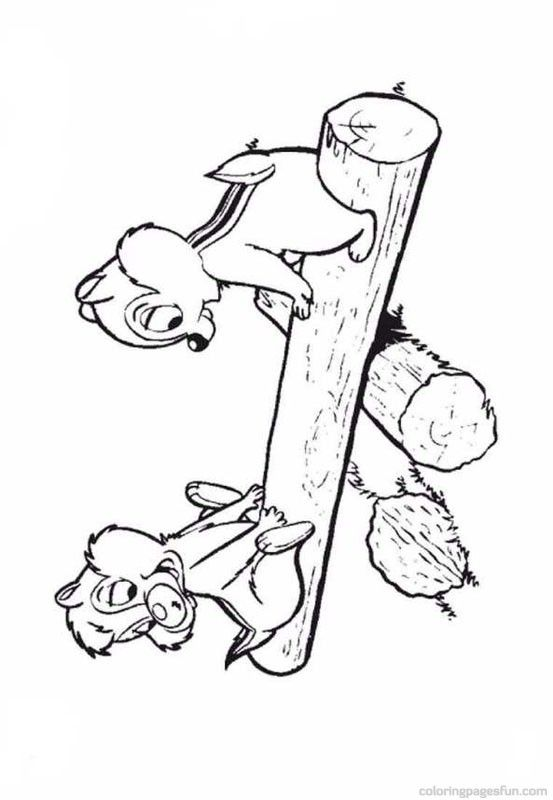 553x800 Chip And Dale Coloring Pages For My Boys