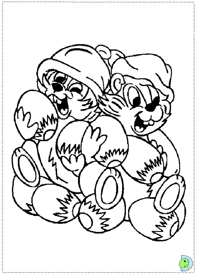 691x960 Disney Chip And Dale Coloring Pages