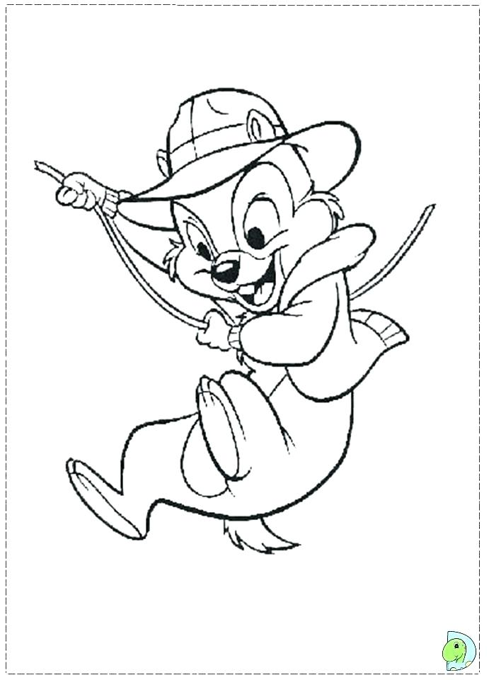 691x960 Chip And Dale Coloring Pages Dale Rescue Rangers Coloring Pages