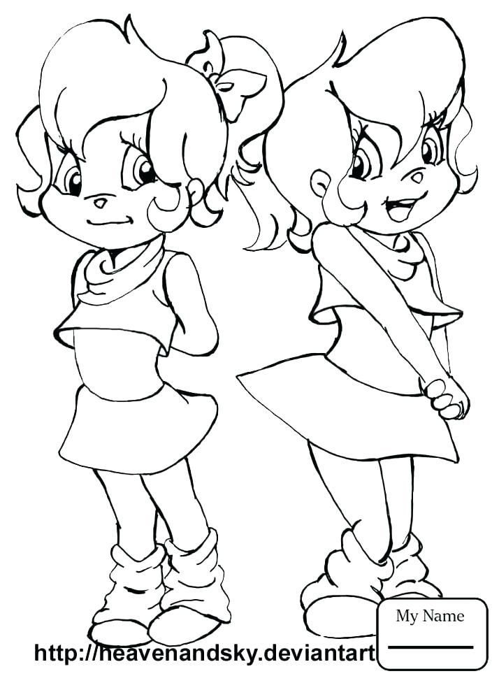 714x977 The Chipettes Coloring Pages And The Coloring Pages Image Search