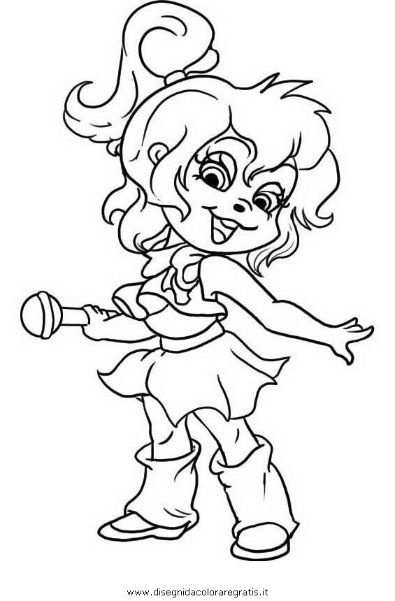 565x860 Alvin And The Chipmunks And The Chipettes Coloring Pages Image