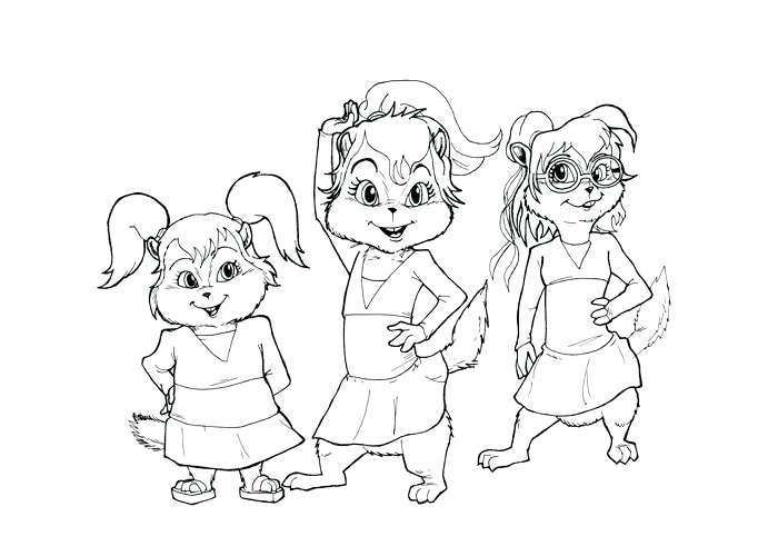 700x500 Chipettes Coloring Pages Coloring Pages And Chipettes Colouring