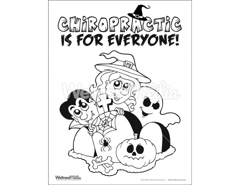 1000x773 Free Coloring Pages Of Kids Chiropractic Rhinelander