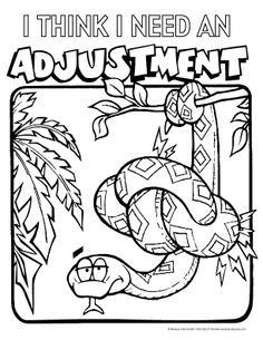 236x305 Chiropractic Coloring Pages