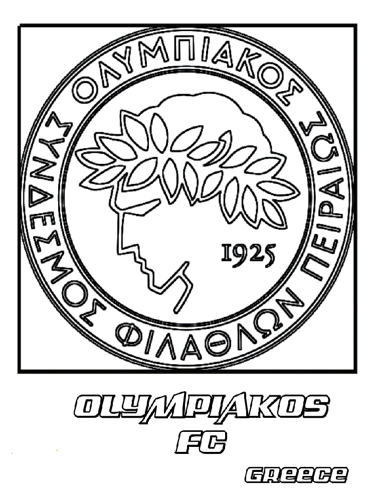 750x1000 Soccer Logos Coloring Pages Free Printable Soccer Logos Coloring