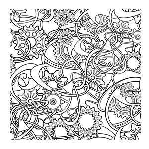 300x300 Dibujo Abstracto Chivas Doodles