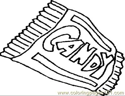 Chocolate Bar Coloring Page At Getdrawings Free Download