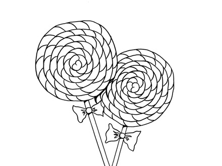 440x330 Chocolate Bar Coloring Page, Race To Color The Chocolate