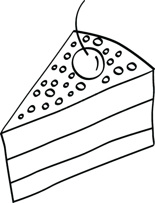 600x783 Coloring Pages Of Cakes Cake Coloring Coloring Pages Of Cakes Cake
