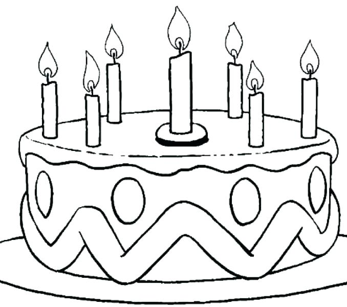 678x600 One Slice Of Chocolate Cake Coloring Pages One Slice Of Chocolate