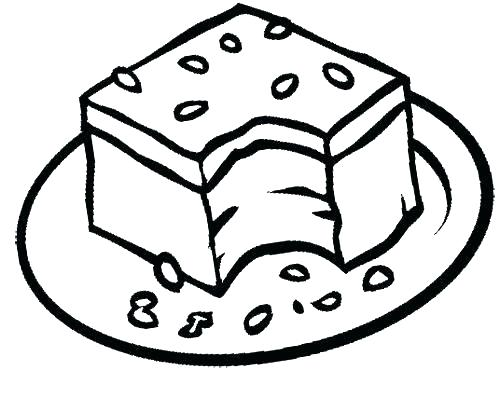 500x398 Chocolate Chip Cookie Coloring Page Free Download Best Chocolate