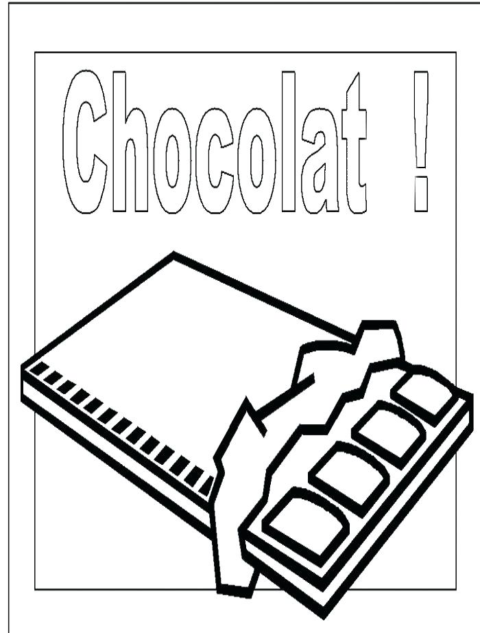 700x922 Chocolate Bar Coloring Page Beautiful Chocolate Bar Coloring Page