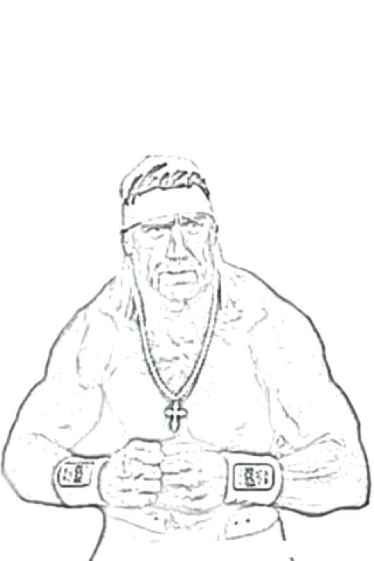 530x795 Hulk Hogan Coloring Page Colorear Dibujos De Cholo Hulk Hogan Hulk